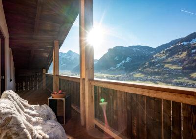 Apartment Anna - Blick vom Balkon